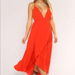 Fashion nova Doing good maxi dress